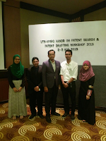 Patent Searching and Drafting, 3-5 August at KSL Hotel, JB.